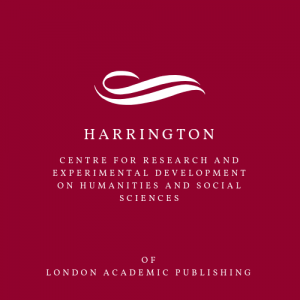 Harrington Centre for Research and Experimental Development on Humanities and Social Sciences. Logo 3